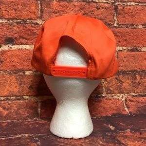 ca349e8a62a9b Accessories - Vtg The Home Depot Orange Snapback Rope Hat